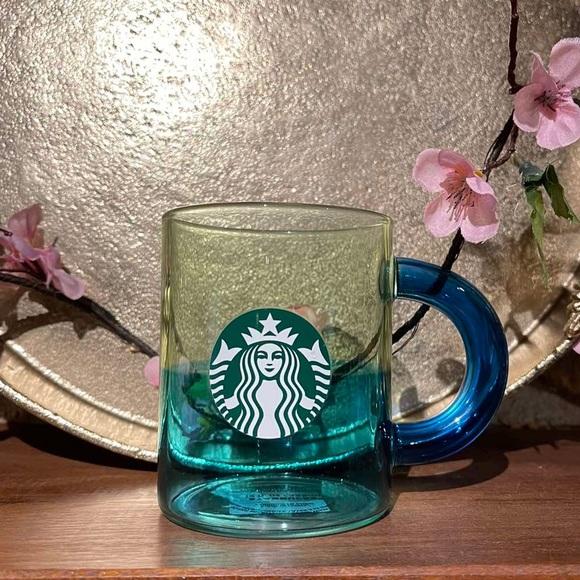 Starbucks Ocean Breeze Glass Mug